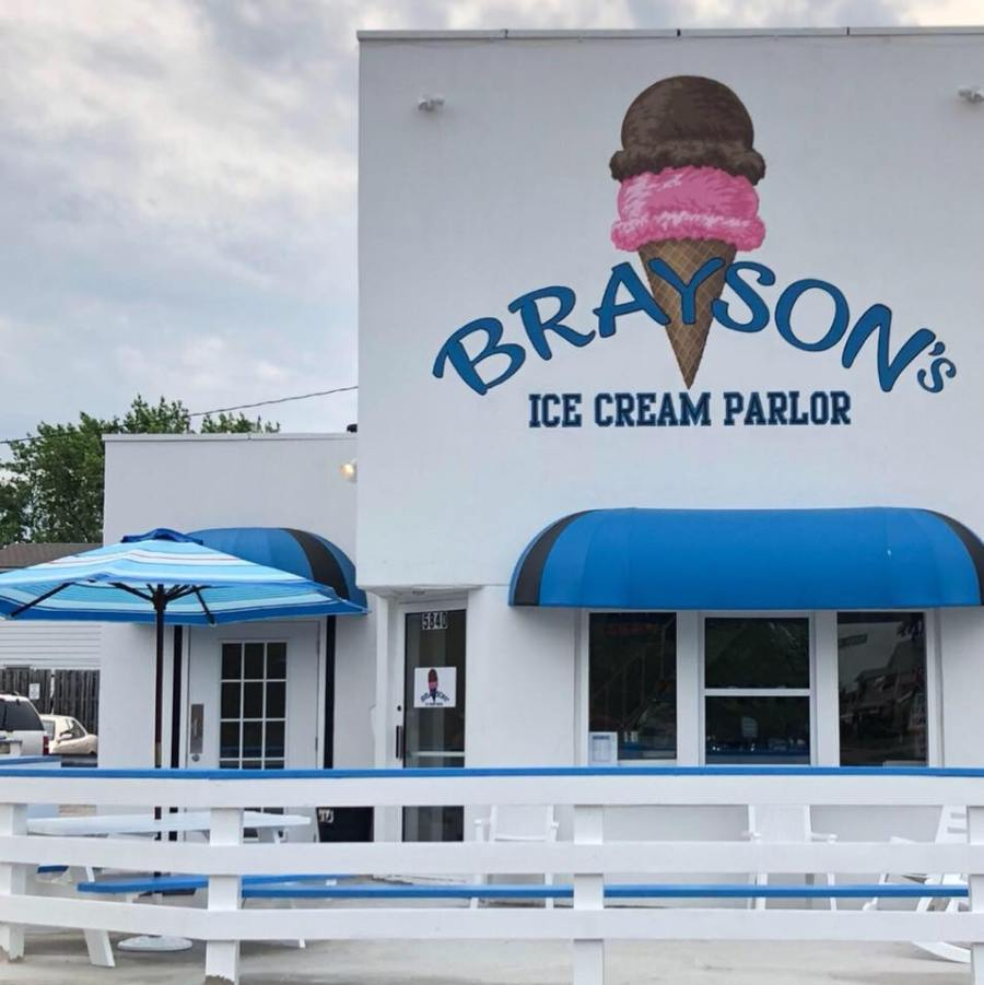 brayson's ice cream parma